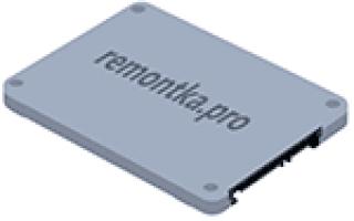 Как установить SSD