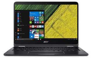 Acer SPIN 7: обзор плюсов и минусов, отзывы и характеристики