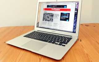Apple MacBook Air 11 Early 2015- обзор характеристик