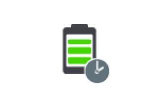 Как включить показ времени работы от батареи в Windows 10