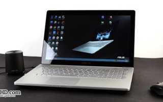 Обзор ноутбука Asus N550JV: ключевые характеристики и опыт эксплуатации