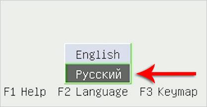Русский в Dr.WebLiveDisk