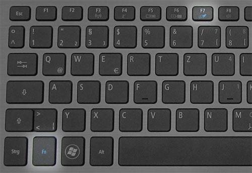 Отключение тачпада на ноутбуке Acer