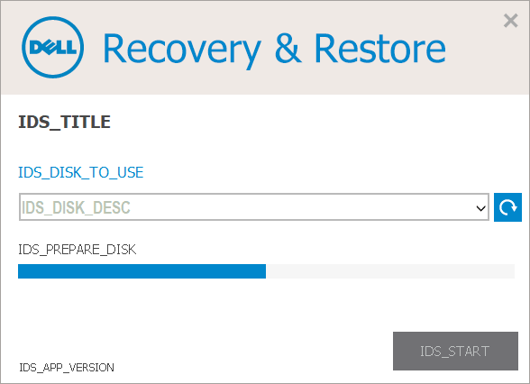 Создание флешки Dell Recovery and Restore