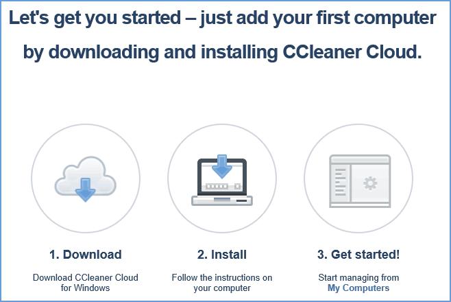 Скачать клиент CCleaner Cloud