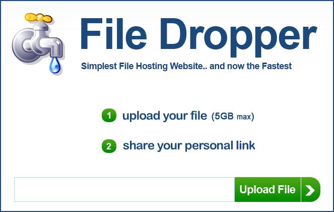 Сервис передачи файлов File Dropper