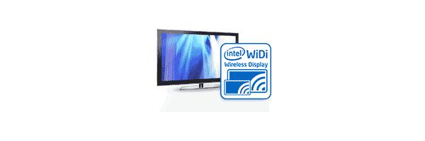 Беспроводное подключение телевизора с помощью Intel WiDi