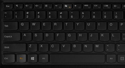 Клавиши для отключения сенсорной панели на Lenovo