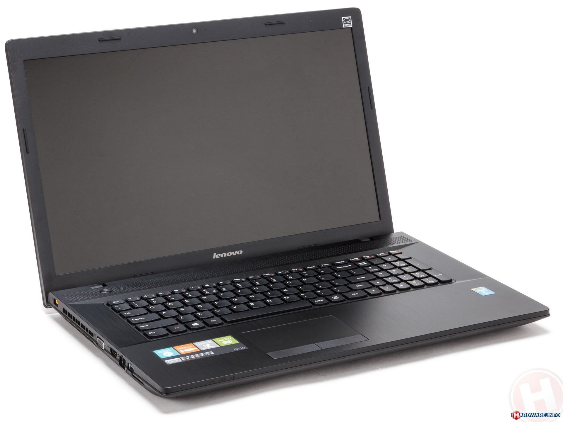 Lenovo Ideapad G710 передний вид