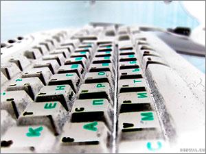 Микробы на клавиутуре