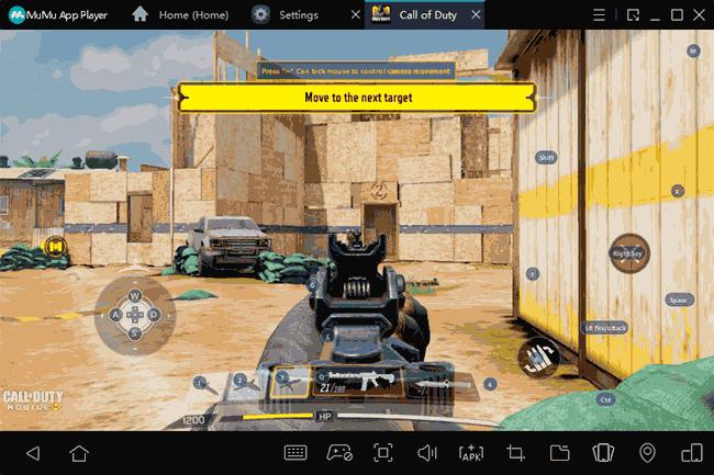 Управление с клавиатуры в Android эмуляторе MuMu App Player