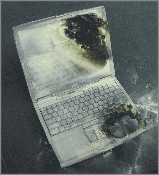 Ноутбук нагрелся