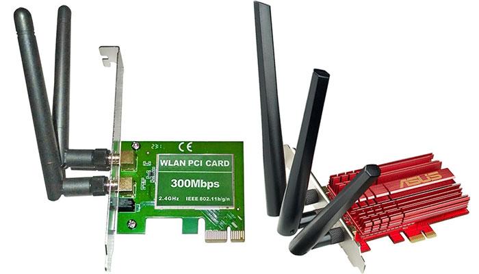 Адаптеры Wi-Fi PCI-E