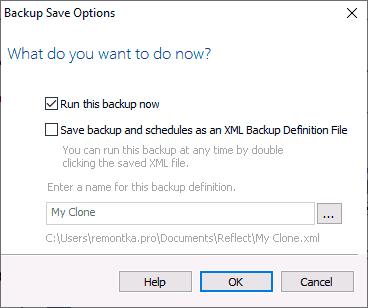 Запустить перенос Windows 10 на SSD