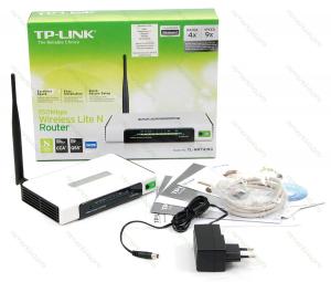 Wi-Fi роутер TP-Link WR741ND — старая версия