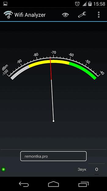 Анализ сигнала Wi-Fi