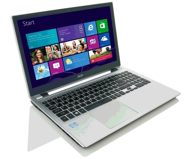 Установка Windows 8 на ноутбук Acer