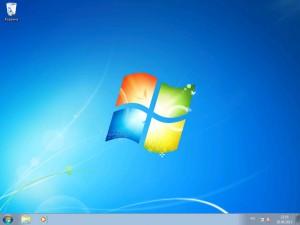Windows 7 успешно установлен на ноутбук